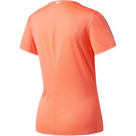 adidas Response Hardloopshirt korte mouwen Dames oranje